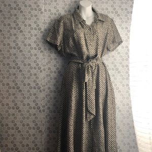 100% silk Dana Buckman dress